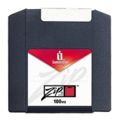 Iomega 100MB Zip Disc 1 Pack - PC Formated