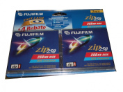 Fujifilm Zip 250 MB Disc - 2 Pack IBM Formatted For Use With Iomega 250MB Zip Drives