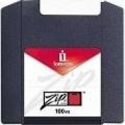 Iomega ZIP 100MB SGL PC YLW-MEDIA
