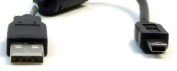 USB 23cm Travel Cord Cable, for Charging and Data Transfer for Amazon Kindle 1 1st Version eBook Reader