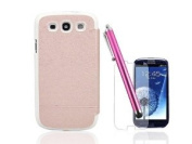 Nccypo Iceland Series Folio Case Cover for Samsung Galaxy S3 i9300, with Screen Protector and Stylus