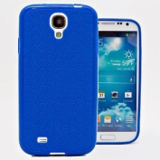 Hyperion Samsung Galaxy S4 Mini HoneyComb Matte Flexible TPU Case & Screen Protector (Cover Compatible with Samsung Galaxy S 4 Mini GT-i9190) **Hyperion Retail Packaging** [2 Year Warranty]