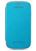for Samsung Galaxy S3 Mini Flip Case - Blue
