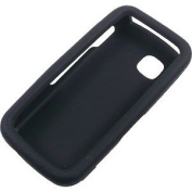 Aimo Wireless ZTEN9500PCLP001 Rubber Essentials Slim and Durable Rubberized Case for ZTE Flash N9500 - Retail Packaging - Black