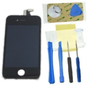 Gadgetzone (US seller) for iPhone 4S LCD Diplay Screen Touch Glass Digitizer Replacement Black + 8 free tools