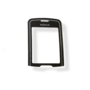 Black LCD Screen Glass Lens Cover For Nokia 8600 Luna