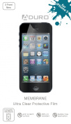 Aduro MEMBRANE Ultra Clear (Invisible) Screen Protector for iPhone 4 / 4S & iPhone 5 (AT & T, Sprint, T-Mobile and Verizon) Retail Packaging
