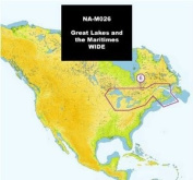 C map max great lakes and the maritimes c card + $150