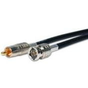 Canare BNC to RCA Broadcast Cable with Canare LV-61S, 15m - Black