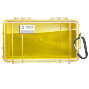 Pelican 1060 Micro Case w/Clear Lid - Yellow