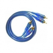 Absolute Abc3 0.9m Basic Series Blue Audio RCA Cable