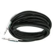 Mr. Dj CQQ-50 Pro Dj Cable Patch Cord 0.6cm to 0.6cm Straight Mono Instrument Speaker Cable 15m