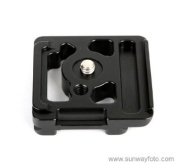 SUNWAYFOTO PC-5DII QR Plate for Canon 5D Mark II Camera Arca Compatible Sunway