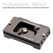 ProMediaGear Flash Bracket Plate for Canon 5D mark 3 body (for BBS and BGS Flash Brackets