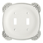 Brainerd 144386 Arboresque Double Switch Wall Plate / Switch Plate / Cover