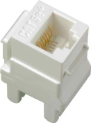 On-Q / Legrand WP3450-WH-50 Category 5e RJ45 Keystone Connector (50 pack), White