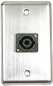 Elite Core OSP D-1-SPEAKON Duplex Wall Plate with 1-Speakon
