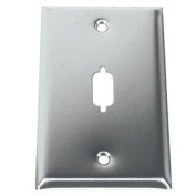 C2G / Cables to Go 37100 HD15/DB9 D-Sub Wall Plate