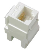 On-Q / Legrand WP3450-LA-50 Category 5e RJ45 Keystone Connector (50 pack), Light Almond