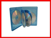 15mm Viva Elite Hold 6 Discs Blu-ray Replacement Case 5 Pack