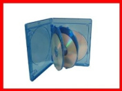 15mm Viva Elite Hold 5 Discs Blu-ray Replacement Case 5 Pack