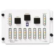 CHANNEL VISION C-0432 2.5cm / 8 Out 110/RJ45 Telecom Distribution Module
