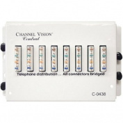 CHANNEL VISION C-0438 Telephone Distribution Module