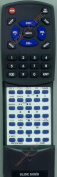 SHARP Replacement Remote Control for RRMCG0347AWSA, XLHP500, XLHP700