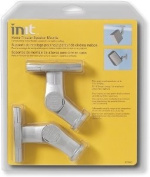 Init Home Theatre Speaker Mounts (2-Pack) - Silver