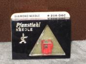 Pfanstiehl 208-D6C Diamond Phonograph Record Player Needle - Audio Technica ATN-70B, AT-70