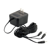 Department 56 Halloween Seasonal Decor Accessories for Village Collections, AC/DC Adapter for Light, 8cm , Black