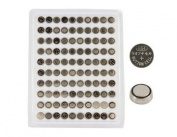 AG4 1.55V Cell Button Battery (100-Pack). shiping