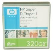 O HP O - Tape - SUPER DLTtape I - SDLT 220 -110/220GB - SDLT 320 - 160/320GB - Sold As Each