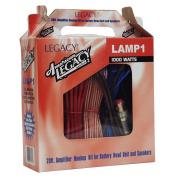 Legacy LAMP1 1000 Watt 8 Gauge Amplifier Installation Kit