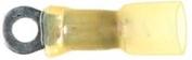 (10) 12-10 Gauge Crimp & Solder Ring Terminals #8 Stud