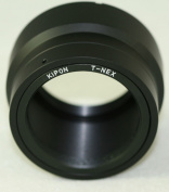 Metal T - Mount Adapter For Sony aNEX Cameras NEX3 & NEX5 To use with 500mm , 800mm , 650-1300mm and Telescopes