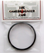 55mm-55mm Male-Male Thread M-M Macro Close Up Photography Lens Coupling Ring for Mounting Two (2) Lenses Face to Face