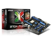 MSI Socket AM3/ AMD 870/ DDR3/ SATA3 and USB3.0/ A and GbE/ATX DDR3 1066 Motherboards 870A Fuzion Power Edition