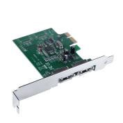 Mediasonic ProBox HP1-SS3 2 Port External SATA 3 / III 6.0 Gbps PCI Express Card - Port Multiplier / FIS-Based switch