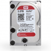 WD 3 TB NAS Desktop Hard Disc Drive (Intellipower SATA 6 Gb/s 64 MB Cache) - 8.9cm , Red