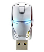 The AVENGERS Ironman War Machine Mask USB Flash Drive 8GB