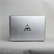 Eye of Providence apple laptop vinyl decal