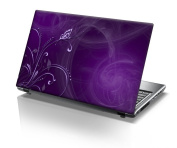 4.6m15cm Taylorhe laptop skin protective decal beautiful purple vines