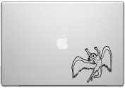 Led Zeppelin Band Rock Icarus Angel Macbook Car Tablet Art - Black Vinyl Decal for 33cm Macbook