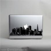 San Francisco Skyline laptop skin vinyl decal