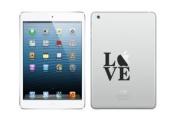 LOVE cute Apple ipad MINI vinyl decal sticker 2 3 4 tablet