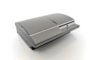 iCarbons Brushed Titanium Vinyl Skin for FAT Playstation 3 PS3