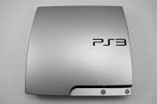 iCarbons Brushed Aluminium Vinyl Skin for SLIM Playstation PS3
