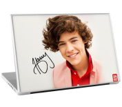 Zing Revolution One Direction Premium Vinyl Adhesive Skin for 33cm Laptops, Harry Image, MS-1D20010