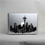 Seattle Skyline Laptop Vinyl Decal © 2013 Laced Up Decals